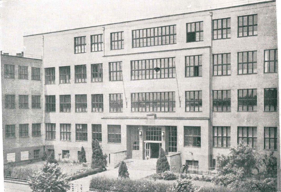 Budova rektorátu, kde bola uložená časť majetku školy.