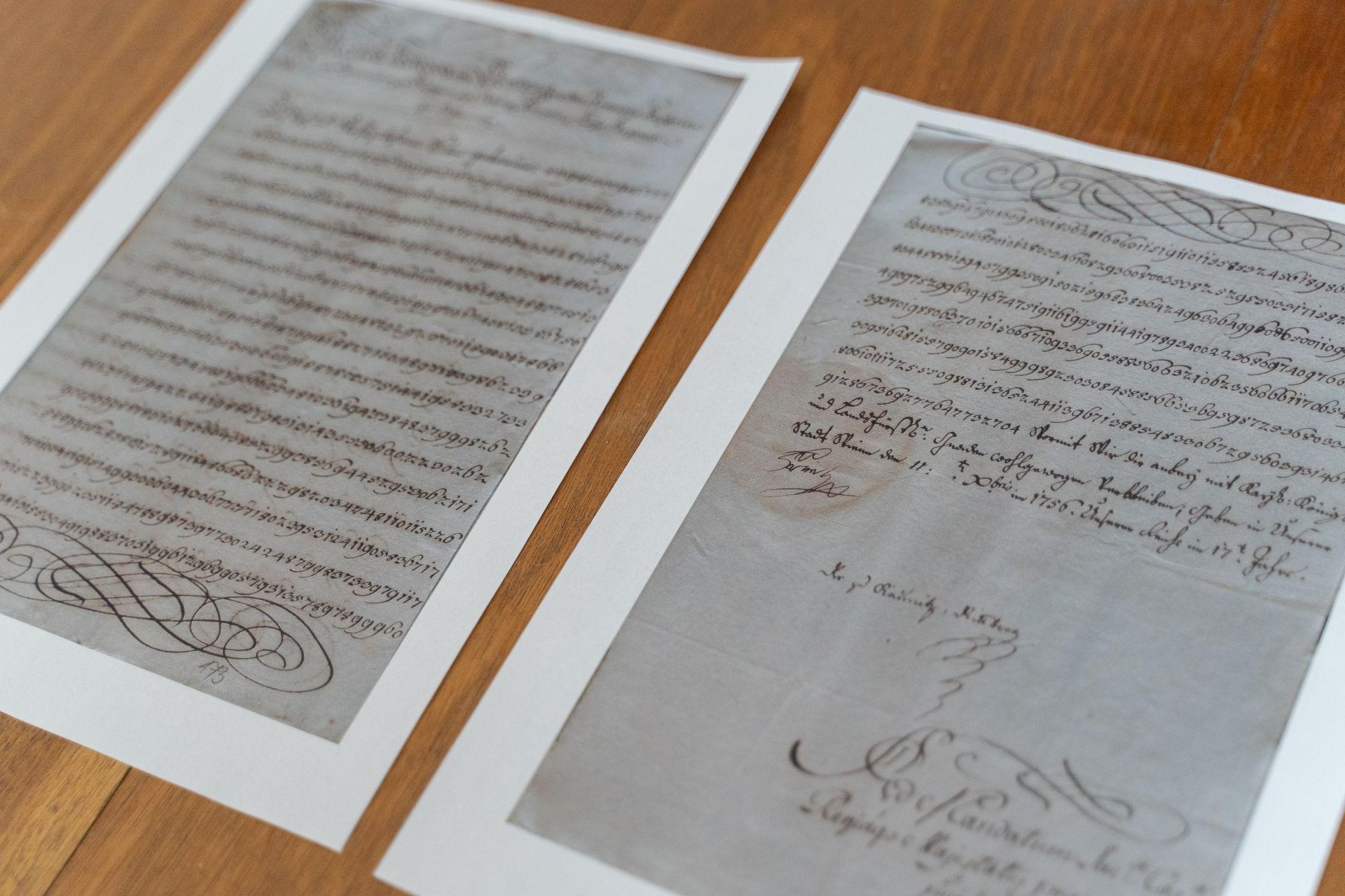 So súhlasom Ministerstva vnútra SR, Slovenský národný archív, fond Esterházy - čeklíska vetva, krabica 634, inv.c. 1612, str. 173.