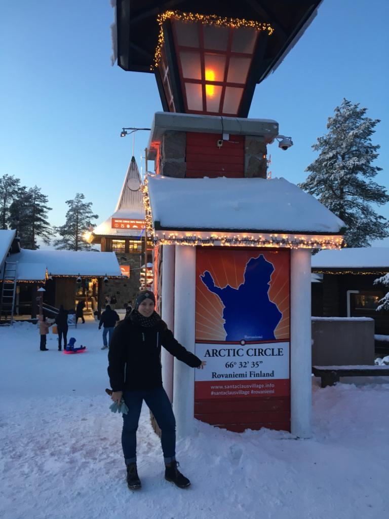 Fínsko, dedina Santa Clausa