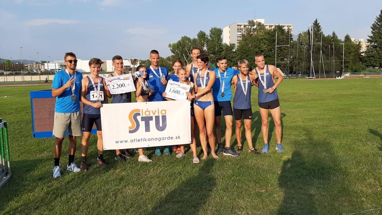 Počas minulého roka sa Slávii STU darilo.